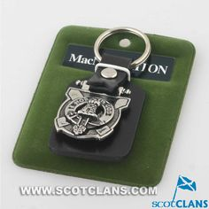 McNaughton Clan Crest Key Fob