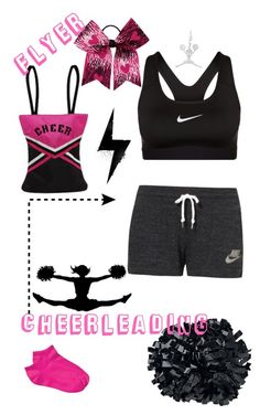 """Cheerliding ❤️"" by fanouchka31 ❤ liked on Polyvore featuring NIKE and Sassi"