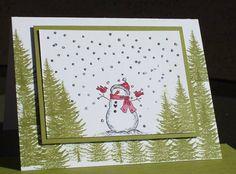 Winter Wonderland by ladybug91743 - Cards and Paper Crafts at Splitcoaststampers
