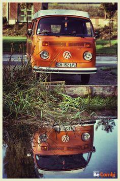 Concours photo VW Camper - Au fil de leau
