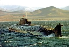 Russian Oscar class guided missile submarine