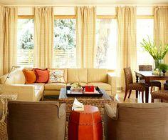 Shades and curtains