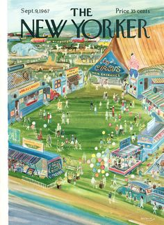 The New Yorker cover: Sep. 09, 1967