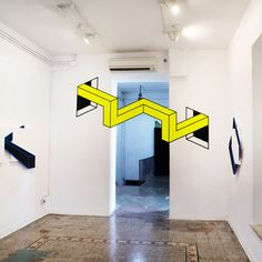 It takes a brave character to turn up in Rome and start fiddling with the architecture, but that's just what Aakash Nihalani has been doing in preparation for his new show Vantage, which combines gallery installations with permanent and temporary urban interventions...