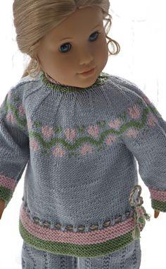 Modèles de tricot pour les poupées