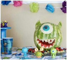 For Kourtney - Michael's Monster Inc. Party