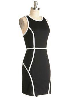 Executive Precision Dress, #ModCloth