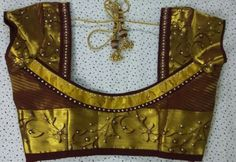 Patch Work Blouse Designs, Simple Blouse Designs, Stylish Blouse Design, Saree Blouse Neck Designs, Designer Blouse Patterns, Salwar Designs, Sumo, Saris, Blouses