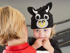 The Halloween crafting experts at HGTV.com share easy, step-by-step instructions for making a cute bull costume for your toddler or baby.