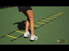 TENNIS DRILL: Quick Ladder Skier Drill
