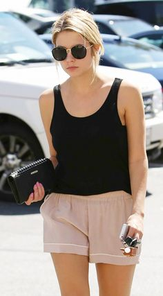 Ashley Benson in Gentle Monster Sunglasses