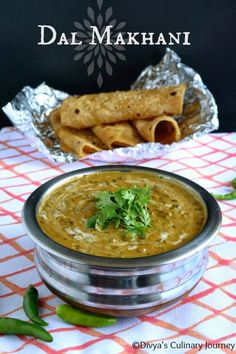 Dal Makhani- Rich and delicious gravy made with black lentils and kidney beans with Indian spices. For vegan version replace butter with oil and fresh cream with coconut milk.