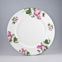 English Rose Dinner Plate 10.5