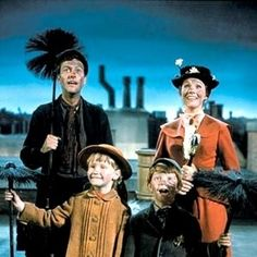 """Marry Poppins (1964)   """"The Top 10 Films for a Family Movie Night"""" - Grandparents.com"""