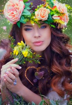 Been a long Winter, I can't wait for the longer warmer days 💚💙❤️💚🕊🦋 garden videos Who else is ready for Spring? Beautiful Women Videos, Beautiful Love Pictures, Beautiful Gif, Beautiful Fairies, Fairy Wallpaper, Flower Wallpaper, Lovely Girl Image, Girls Image, Animated Love Images