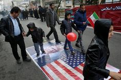On its annual Revolution Day, Iran cemented its national identity on hatred of the US and Israel.