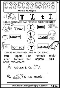 livro-das-familias-silabicas-letra+T-imprimir-colorir.JPG (464×677)