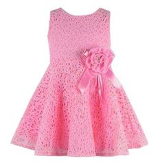 >> Click to Buy << 2016 Sweet girls summer dress Lace casual Floral Sleeveless Flower baby vestidos Princess Party Prom girls flower dress clothes #Affiliate