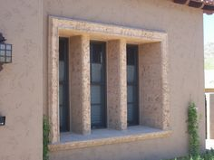 Want something special framing your windows?  See what Ancient Stone can do for you.  www.ancientstone.com