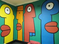 Thierry Noir en indoor au « Baroque The Streets » - www.street-art-avenue.com