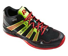 Salming Race R9 Mid 30 Mens Court Shoes US Shoe Size 9 US  8 UK ** Click image to review more details.