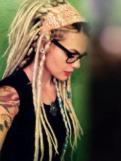Dreadlocks extensions by Lindsey Holiday #gypsy.locs #dreadlocks #lindseyholiday