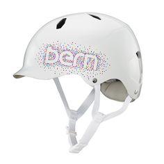 Bern Bandita Teenage Helmet - White Confetti | Cyclechic