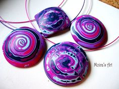 Polymer clay sea shell tutorial  Jewelry tutorial  by MoirasArt, $10.00