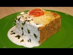 Rakott lapcsánka tepsiben sütve - YouTube Easy Entertaining, Mashed Potatoes, Make It Yourself, Vegetables, Ethnic Recipes, Youtube, Food, Lasagna, Red Peppers