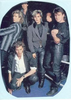 Duran Duran - not the greatest quality pic but I like it anyway :)