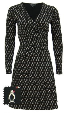 Penguin jurk van Zilch Penguin Love, Penguins, Van, Dresses With Sleeves, Long Sleeve, Clothes, Fashion, Outfits, Moda
