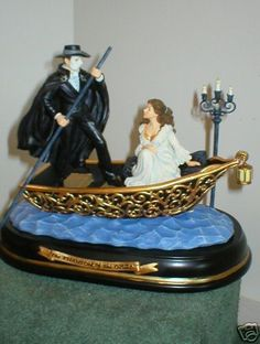 RARE Phantom of The Opera Journey to Lair San Francisco Music Box New in Box | eBay