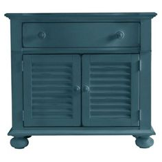 Check out this item at One Kings Lane! Summerhouse Chest, Blue