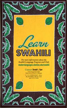 Swahili - Department of Modern Languages Speak Language, All About Africa, University Of Mississippi, World Languages, Programming Languages, Tanzania, College, English, Culture