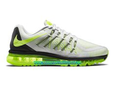 more photos bb699 ad4d7 Nike Air Max 2015 Chaussures Nike Pas Cher Homme Blanc Tension Noir 698902-