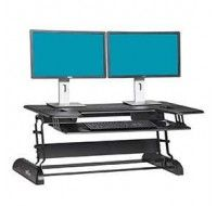 Varidesk Cube Plus 40 Black - Standing Desk
