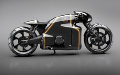 lotus announces their first motorcycle: the C-01 designed by daniel simon