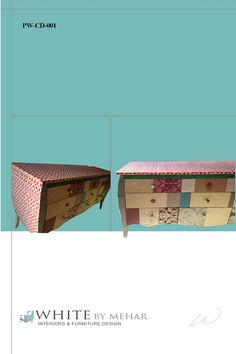 Patchwork chest of drawers by WBM