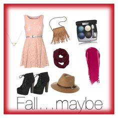 """My non-typical fall outfit"" by girl6pt0k ❤ liked on Polyvore featuring Glamorous, Breckelle's, Patchington, Athleta, Rusty, Banana Republic, Chanel and NARS Cosmetics"