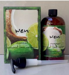 WEN Coconut Lime Verbena Cleansing Conditioner+pump (used 3/4 Full) in Health & Beauty, Hair Care & Styling, Sets & Kits | eBay