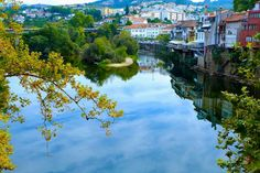 in Amarante, Portugal. One of the main streets of the historic center of Amarante a house at your disposal fully equipped for rest and spend holiday with views of the river Tamega. Inside, the house Amarante has a topology of a T2 and is decorated in a modern and minima...
