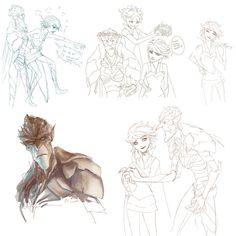 Strange magic Sketches 2 by Ka-ren on DeviantArt Strange Magic Movie, Magic Tumblr, Chucky, Character Design Disney, Sketch 2, Fanart, Magic Art, Disney Fan Art, Cute Disney