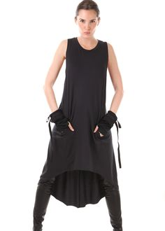 Asymmetric Shirt Dress: UMASAN, Germany