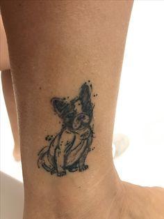 Frenchie tattoo
