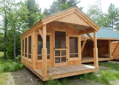 The pond house design is one of our most popular cabins offered at Jamaica Cottage Shop. Our timeless designs are fully customizable. Free Shipping to USA & Canada.