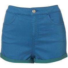 MOTO High Waist Hotpants ($64) via Polyvore