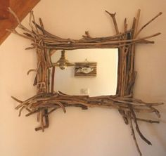 Step by step tutorial on how to make your own driftwood at home to use in driftwood crafts and projects. If you've ever wondered where to get driftwood. Driftwood Mirror, Driftwood Projects, Driftwood Furniture, Beach Crafts, Nature Crafts, Cool Diy, Barn Wood, Weathered Wood, Diy Home Decor