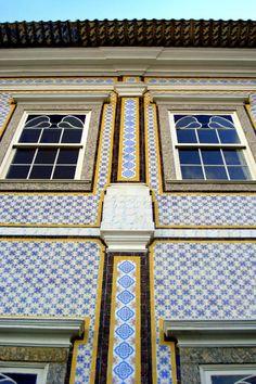 Azulejos antigos no Rio de Janeiro: Niterói I - Solar do Jambeiro