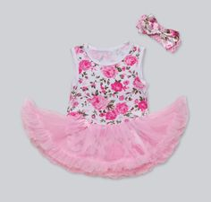 http://babyclothes.fashiongarments.biz/  Pinkbabi Infant Baby Girls Romper 2PCs per Set Pink Rose Flower Printed Baby Girl Tutu Dress Headband for 0-24Months, http://babyclothes.fashiongarments.biz/products/pinkbabi-infant-baby-girls-romper-2pcs-per-set-pink-rose-flower-printed-baby-girl-tutu-dress-headband-for-0-24months/, Material: blend cotton, mesh tulle; 0~6months: 44cm/17.32″ in chest, 36cm/14.17″ in length; 6~9months: 46cm/18.11″ in chest, 38cm/14.96″ in length; 9~12months…