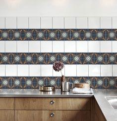 Dark Aveira Tile Stickers Full Tile Decal Vinyl Sticker Flooring Bathroom Kitchen Stair Self Adhesive Removable Peel and Stick Tile Decals, Very Small Bathroom, Bathroom Tiles Grey White, Bathroom Plans, Tile Backsplash, Amazing Bathrooms, Bathrooms Remodel, Small Remodel, Small Bathroom Plans